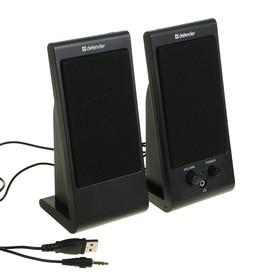 Computer speakers 2.0 Defender SPK-170, 2x2 W, USB, black.