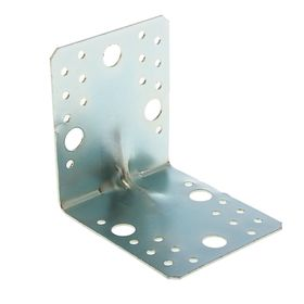 Area reinforced mounting 105 x 105 x 90 x 2 mm, galvanized