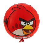 """Шар фольгированный 18"""" Angry Birds, круг, цвет красный"""