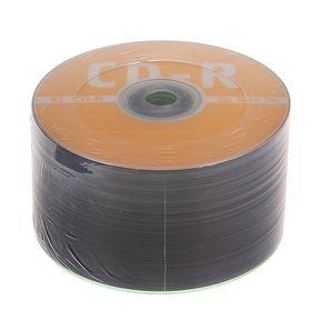 Диск CD-R Data Standard, 52x, 700 Мб, спайка, 50 шт Ош