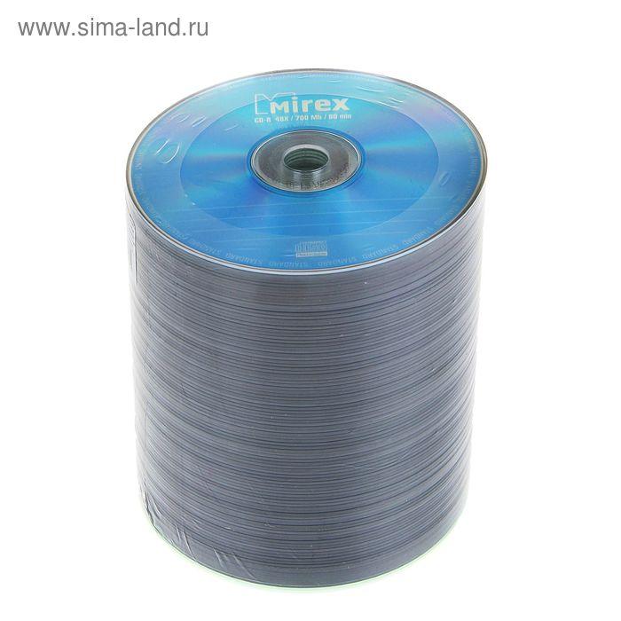 Диск CD-R Mirex STANDARD 700 Мб (термоупаковка 100шт)