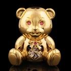 Сувенир «Медвежонок», с кристаллами Сваровски, 6,5 см