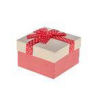 "Коробка подарочная ""Бант"" 9 х 9 х 5,5 см"