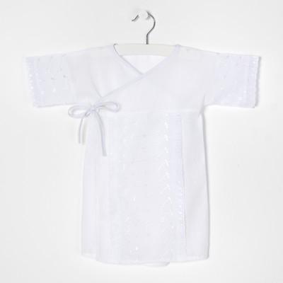 Рубашка крестильная кружевная А.1408, рост 68 (22)