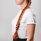 """Коса на резинке """"Русая"""", длина 47 см"""