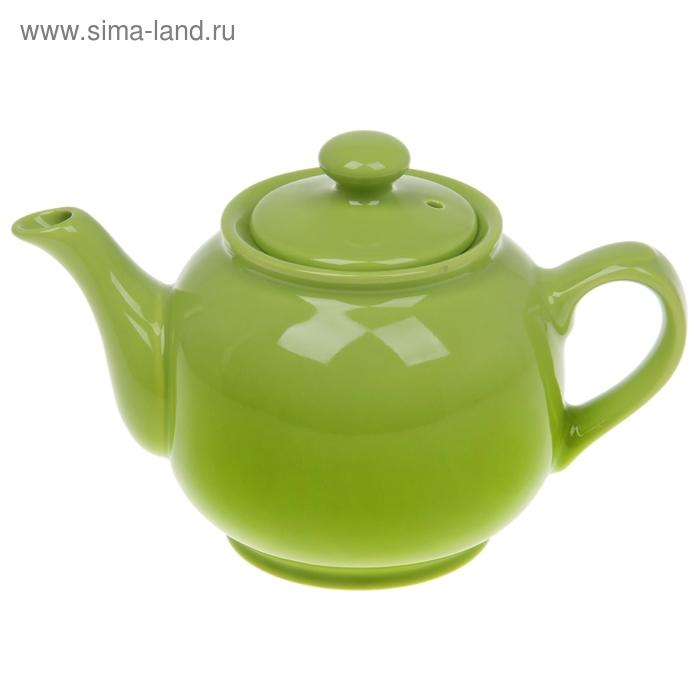 Чайник 1 л, цвет зеленый