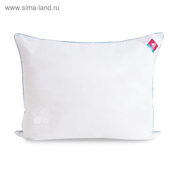 Подушка Лель средняя 40х60 см, искус.лебяжий пух, тик белый