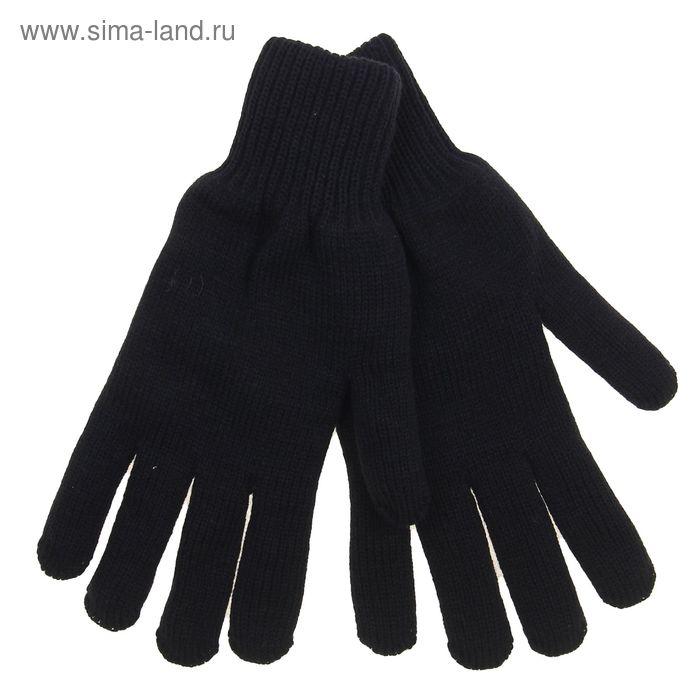 Перчатки мужские двойные, размер 22, цвет МИКС 6С178