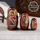 Матрёшка «Православная», Владимирская, Казанская, Почаевская