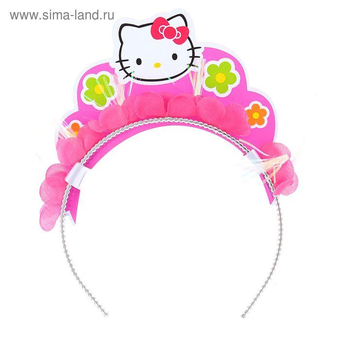 "Ободок Hello Kitty ""Цветы"""