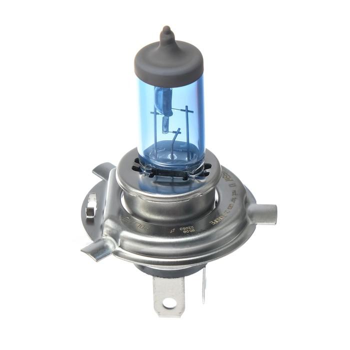 Лампа автомобильная Narva Range Power White, H4, 12 В, 60/55 Вт, набор 2 шт.