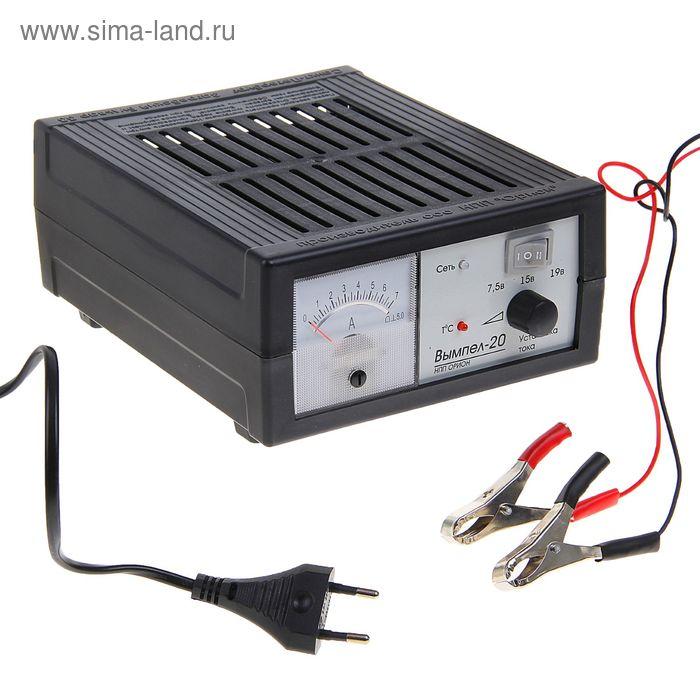 """Зарядное устройство АКБ """"Вымпел-20"""", 6 А, 6/12 В, до 90 Ач, стрелочный индикатор"""