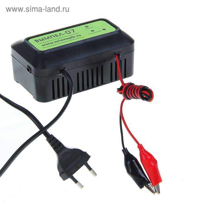 """Зарядное устройство АКБ """"Вымпел-07"""", 1.2 А, 12 В, до 90 Ач"""