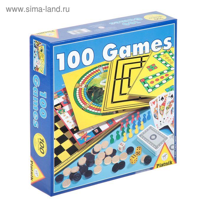 """Настольная игра """"100 игр"""""""