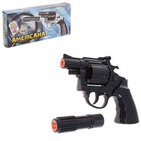 Пистолет игрушечный Americana Polizei, с 12-зарядными пистонами в Донецке