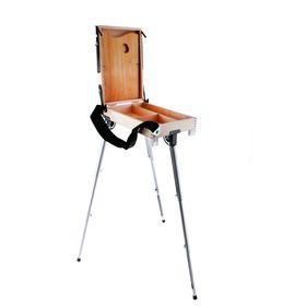 """Этюдный ящик с телескопическими ножками, 250 х 400 мм, малый, """"Альбатрос"""""""