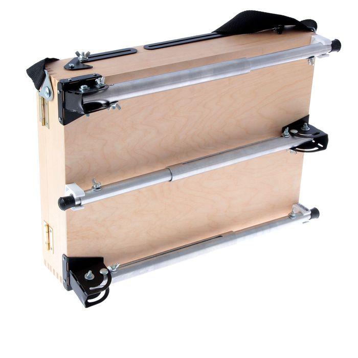 Этюдный ящик с телескопическими ножками 250 х 400 мм Альбатрос, малый