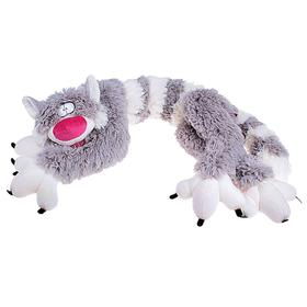Мягкая игрушка «Кот Бекон», 112 см, цвет бело-серый