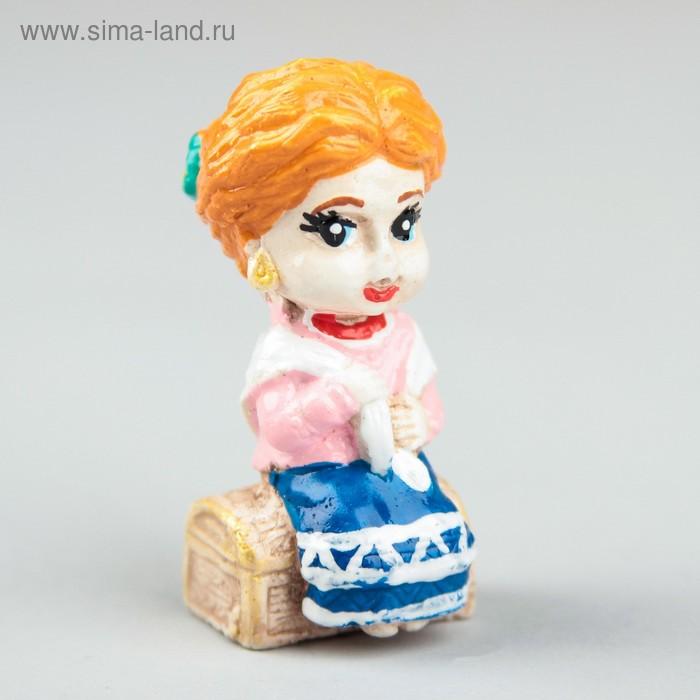 """Фигурка """"Веселые казачата-домовята Степанида с приданным"""""""