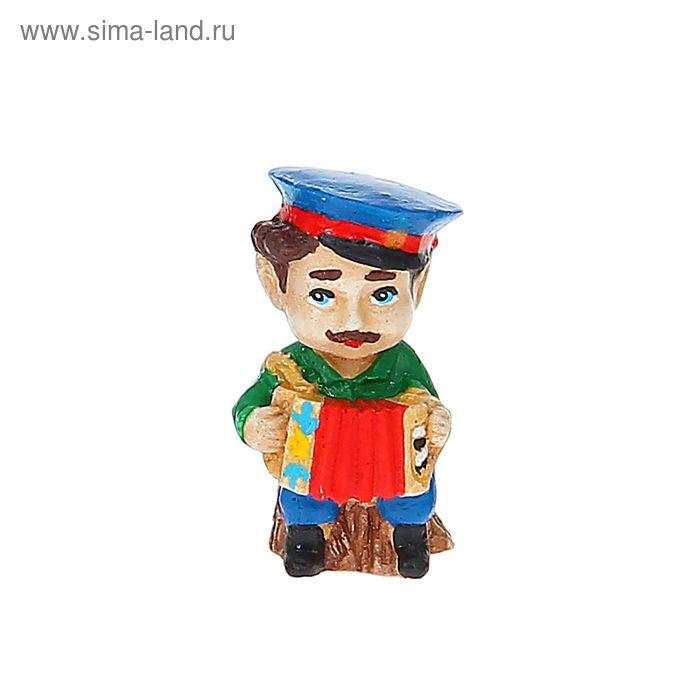 "Фигурка ""Веселые казачата-домовята Иван Гармонист"", МИКС"