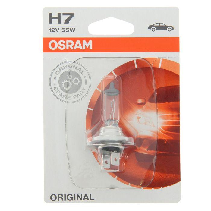 Лампа автомобильная Н7 12V-55W Osram - фото 7378205