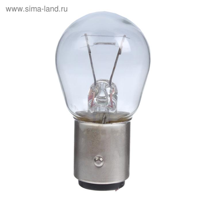 Лампа автомобильная Osram, P21/5W, 12 В, 21/5 Вт