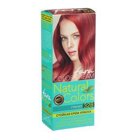 Краска для волос Fara Natural Colors, тон 328, гранат, 160 г