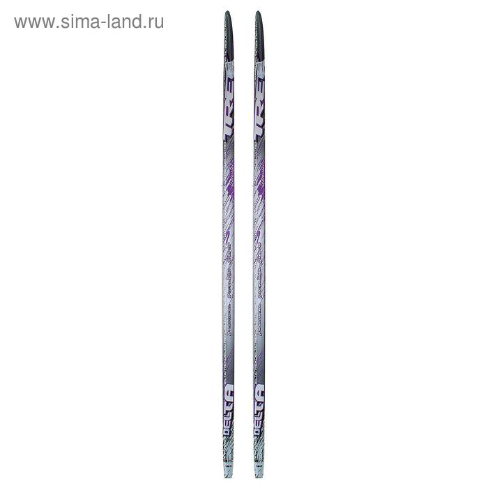 Лыжи пластиковые TREK Delta (Step, 180см, цвет сиреневый)