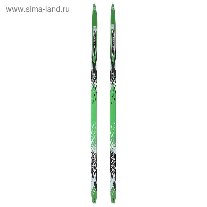 Лыжи дерево-пластик TREK Forest / Маяк ( 190см )  МИКС
