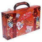 Складная коробка «Новогодний багаж», 30 х 18 х 6 см