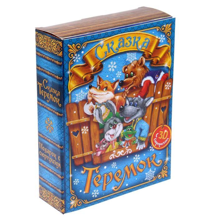Складная коробка «Сказочный теремок», 20 × 15 × 5 см, вместимость - 800 гр. - фото 308273839