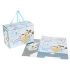 """Коробка подарочная складная """"Самому лучшему малышу"""": Микки Маус и друзья, Дисней Беби, + мини-открытка"""