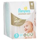 Подгузники «Pampers» Premium Care, Midi, 5-9 кг, 20 шт/уп