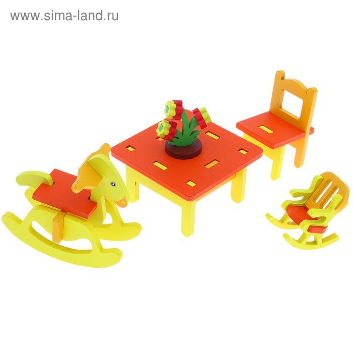 """Мебель кукольная Собери сам """"Детская комната"""""""