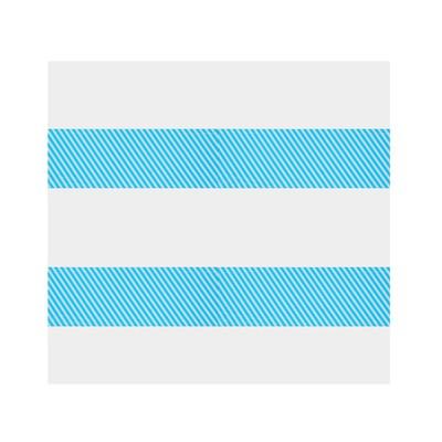 Скатерть «Диагональные синие полосы», 105х180 см