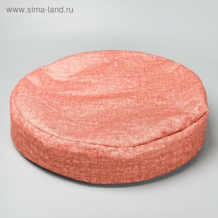 Лежак-антистресс для собак и кошек, круглый, 50Х50 см, микс цветов