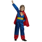 """Детский карнавальный костюм """"Супермен"""", р-р 28, рост 110 см, цвет сине-красный"""