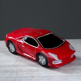 """Копилка """"Машина мечты"""", глянец, цвет красный, 9 см"""