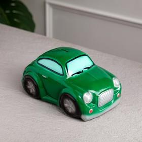 "Копилка ""Купер"", глянец, цвет зелёный, 10 см"