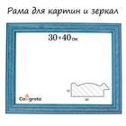Рама для зеркал и картин 30х40х4,2 см, Polina синяя