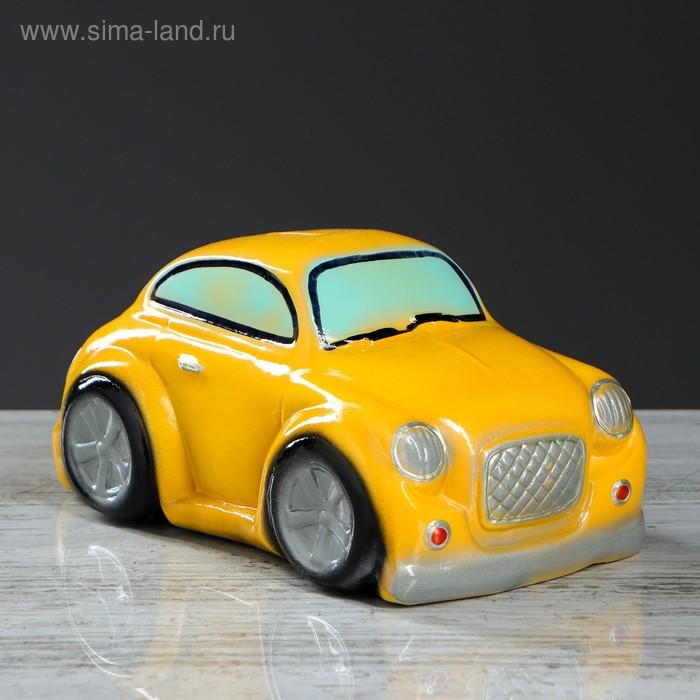"""Копилка """"Машина Купер"""" жёлтая"""