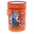 Коробка подарочная «Дед Мороз и Снегурочка», 13,5 х 19 см
