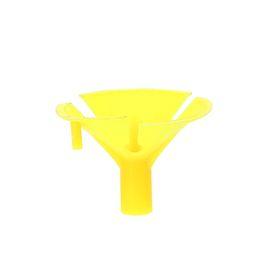 Держатель-зажим для шаров, отверстие 0,5 см, d=3,5 см, цвет жёлтый