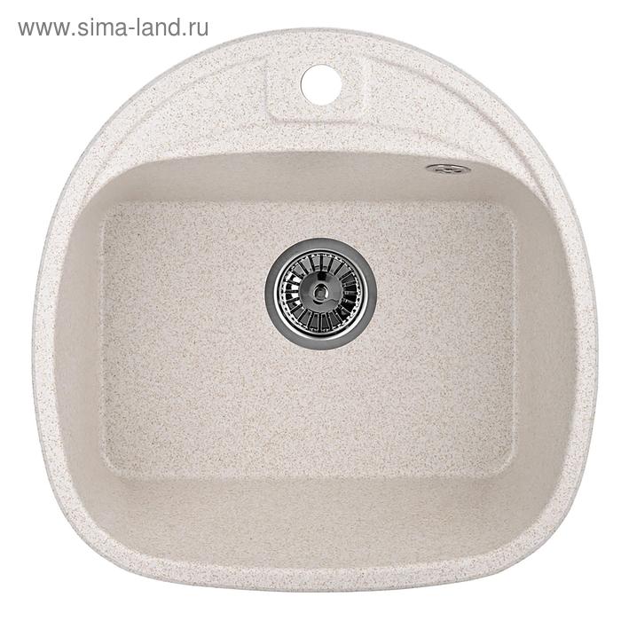 """Мойка кухонная гранитная Granula 5050 """"Пирит"""""""