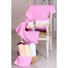 """Полотенце махровое """"Этель"""" Серпенте розовый 30*70 см, 100% хлопок, 400гр/м2"""