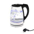 Чайник электрический LuazON LSK-1701, 1.7 л, 2200 Вт, LED подсветка, стекло