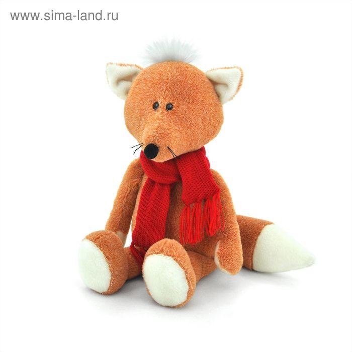 Мягкая игрушка «Лисёнок Рыжик в шарфике»