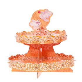 Подставка для пирожных «Совет да любовь», двухъярусная