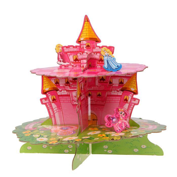 Подставка для пирожных «Принцесса», двухъярусная