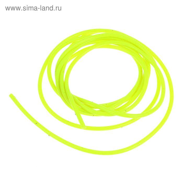 Кембрик d0.8*1.5 флуор. желтый набор 10шт (Три кита)